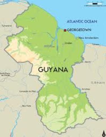 Emacipacion de Guyana