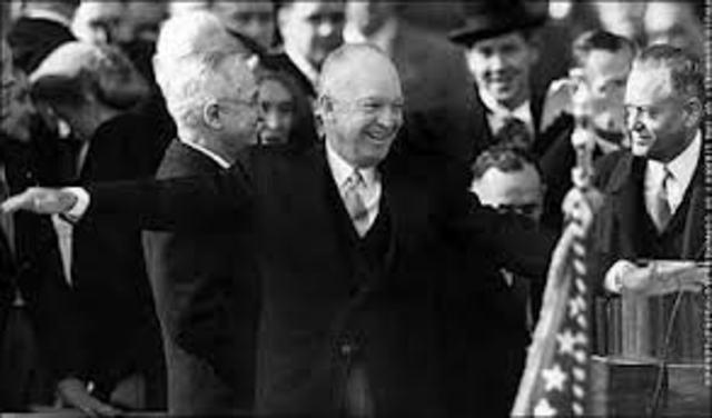 Inauguration of Dwight D. Eisenhower