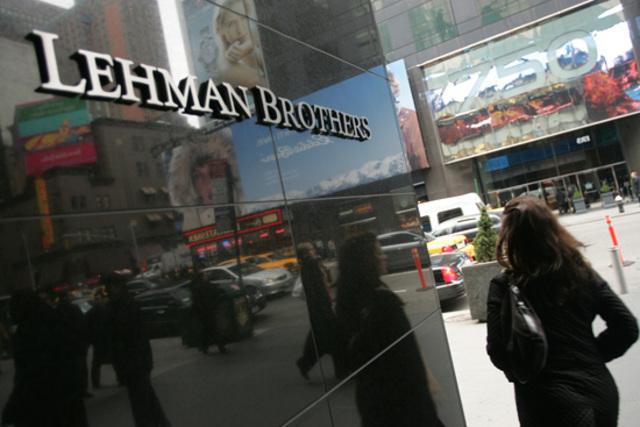 Quiebra de Lehman Brothers.