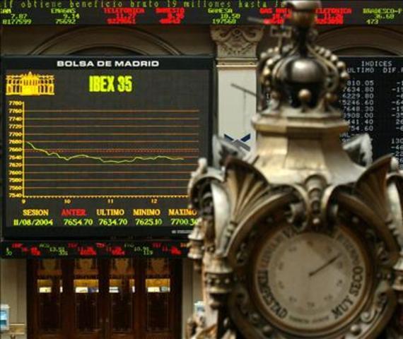 Crash de la Bolsa de Madrid.
