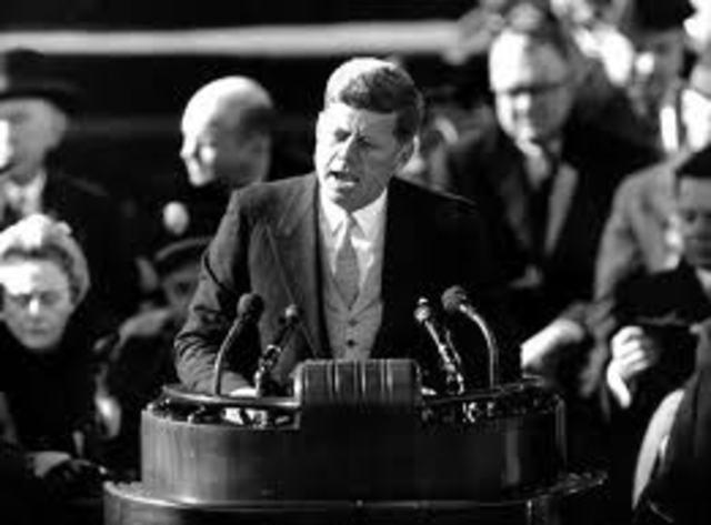 Inauguration of John F. Kennedy