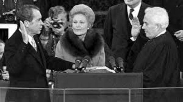 Inauguration of Richard Nixon