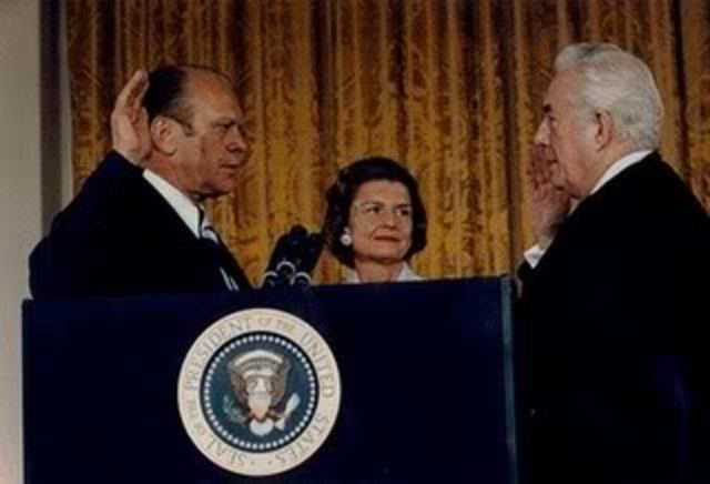 Inauguration of Gerald R. Ford