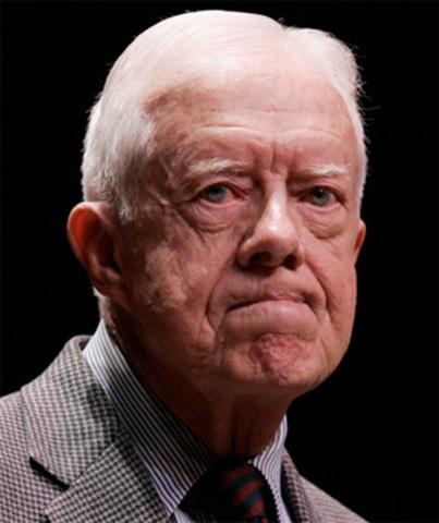 Jimmy Carter Visit