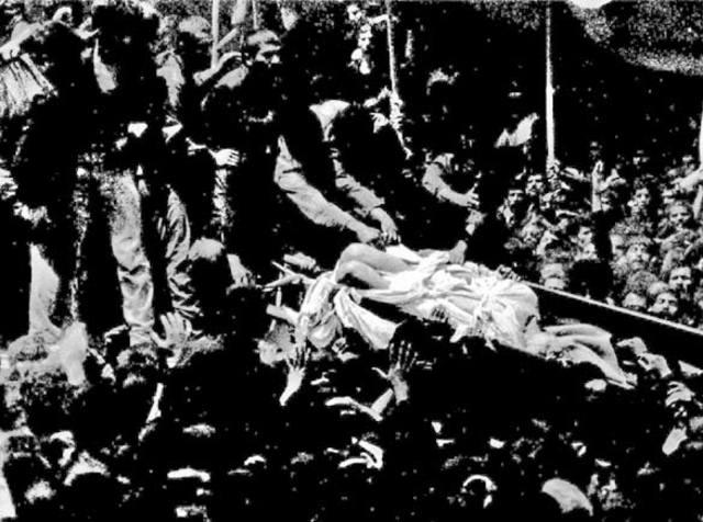 Khomeini dies