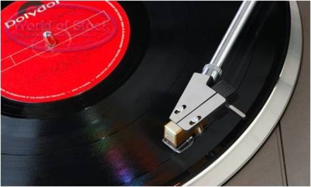 L.P. vinyl record