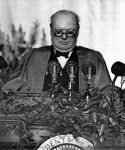 Winston Churchhill Speech