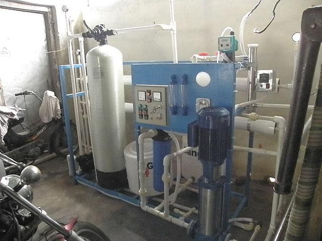 First Multi Stage Flash Distillation Plant Built