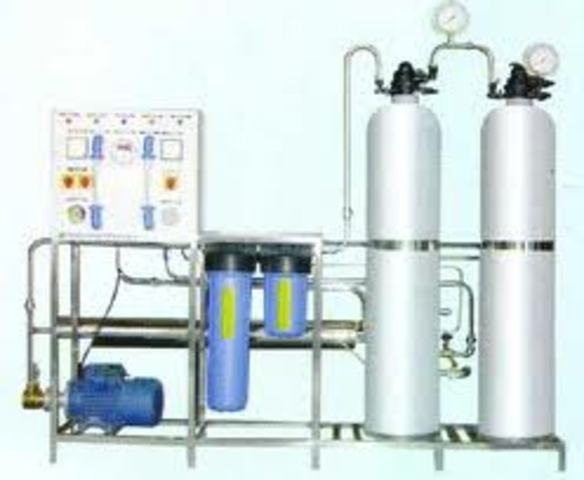 World's First Commercial Reverse Osmosis Plant Built