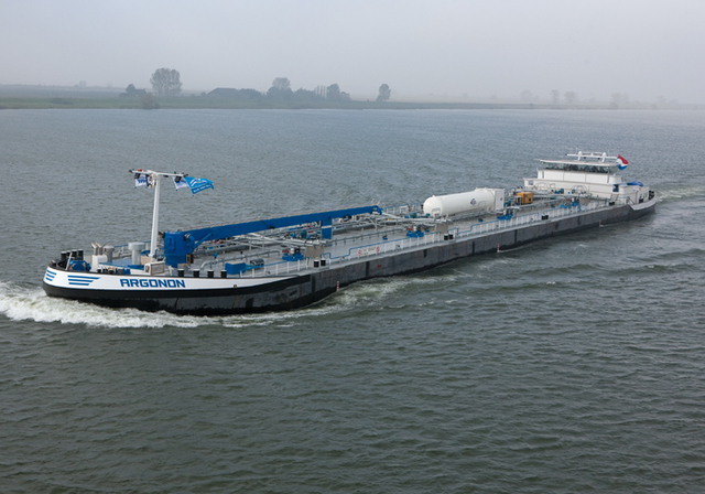 First Seafaring Desalination Plant Built
