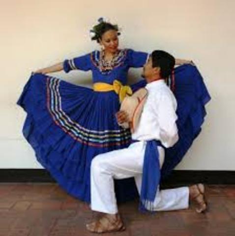Video de la danza de Honduras