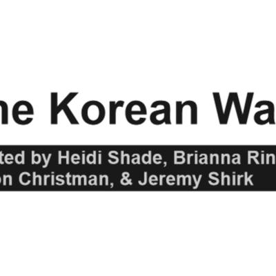 The Korean War Major Events timeline