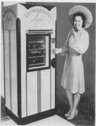 First food vending machine