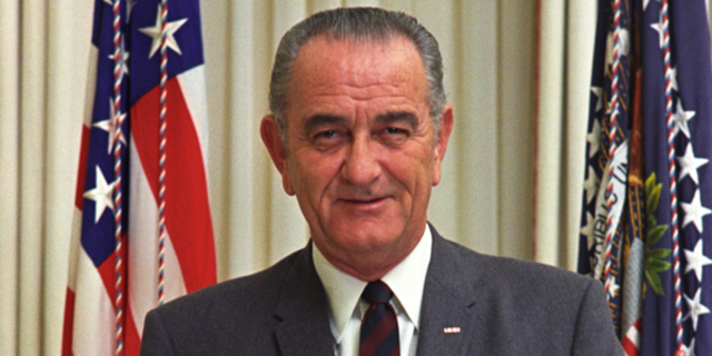 Lyndon B. Johnson elected president