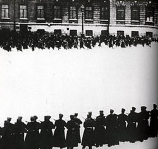 Ending of Bloody Sunday( Workers' protests)