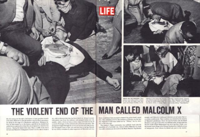 Malcom X assassinated