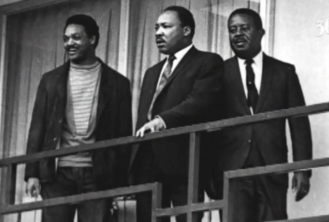 Martin Luther King assasinated