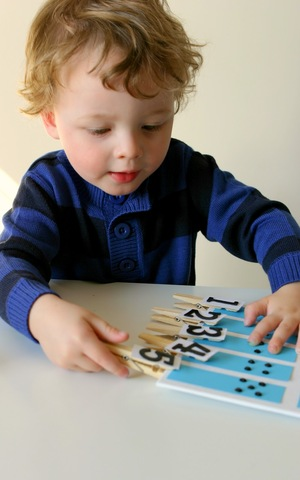Early Years – Comprehension of Numbers 1-10 (3 ½ years)