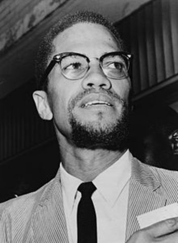 Malcom X founds the Organization of Afro-American Unity