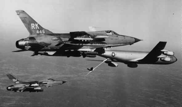 First Attack of Operation Rolling Thunder