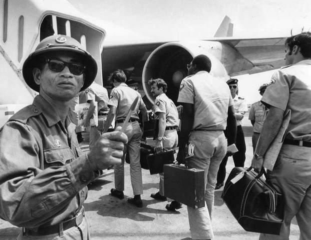 Vietnam War Major Events: US troops leave South Vietnam