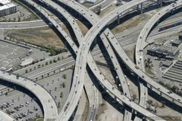 Domestic policy&problems in the US under: Eisenhower -High Way Interstate Act 1956