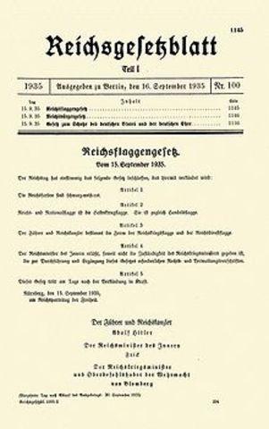 Nürnberger Rassengesetz