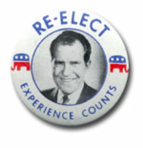 Richard Nixon reelected