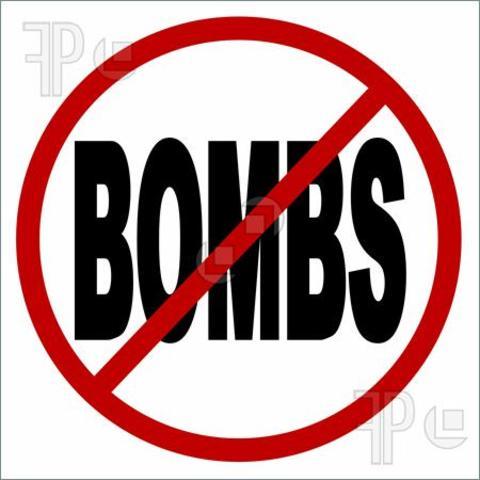 No bombing
