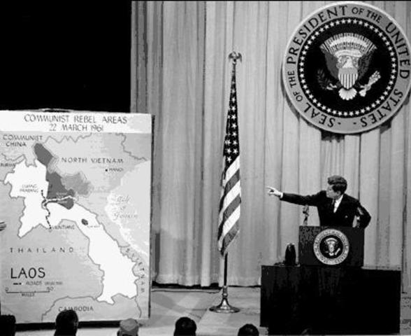 United States sends military advisers to Vietnam