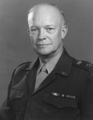 Dwight D. Eisenhower is elected president.