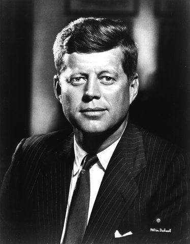 John F. Kennedy is elected.