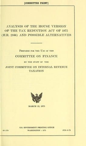 Tax Reduction Act of 1975