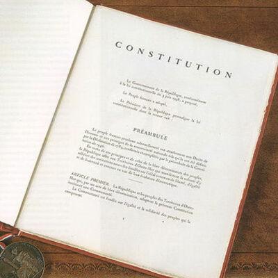 Révisions de la Constitution Française timeline