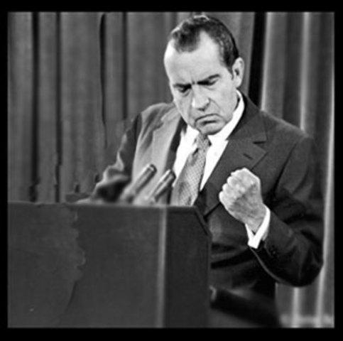 Richard Nixon is elected president.