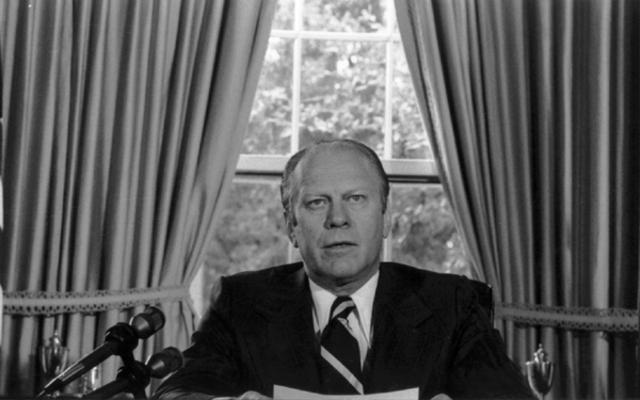 Ford Pardons Nixon