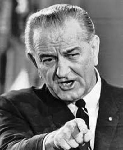 President Johnson Meeting
