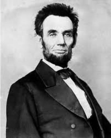 Abraham Lincoln is re-elected president, defeating Democrat George B. McClellan.