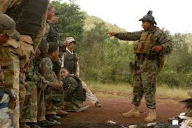 U.S. Marines sent to Dominican Republic to fight Communism