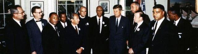 JFK's afiliation with civil rights