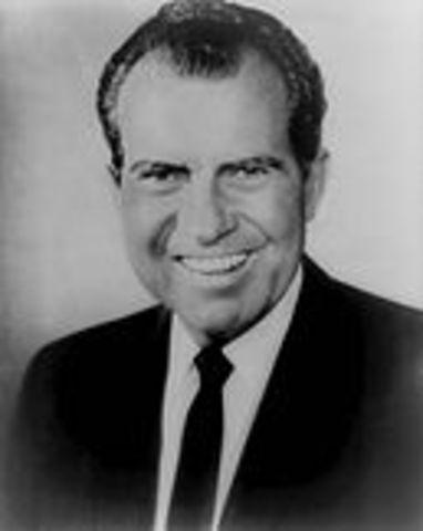 Nixon becomes President