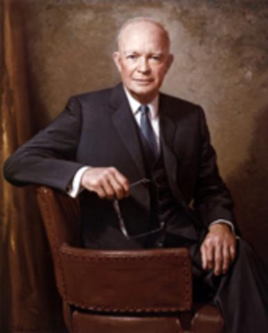 Eisenhower Wins Second Term Relection