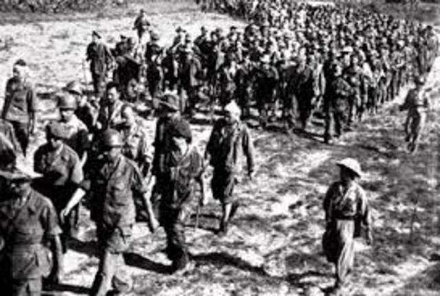 French surrender at Dienbienphu
