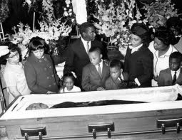 Martin Luther King is Assasinated