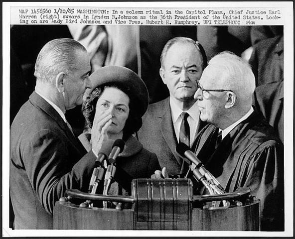 Inauguration of Lyndon B. Johnson