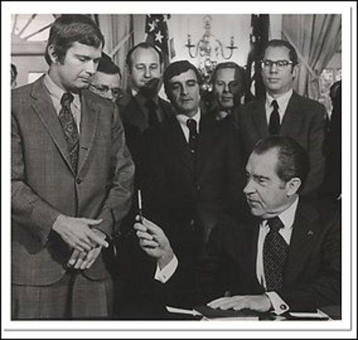Regulation and Social Legislation (Under Nixon)