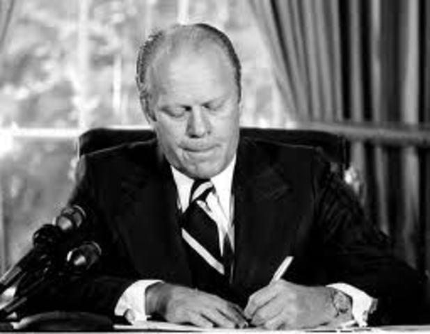 Pardoning Nixon (Under Ford)