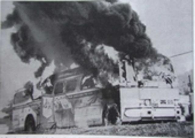 Anti-Freedom Ride riots