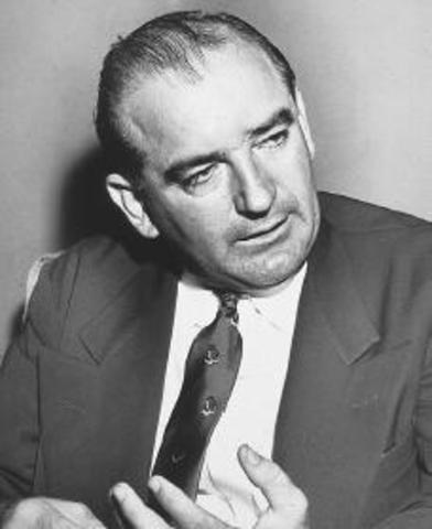 Joseph McCarthy is discredited