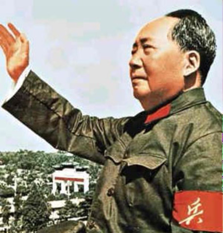 Mao Zedong Heads Long March